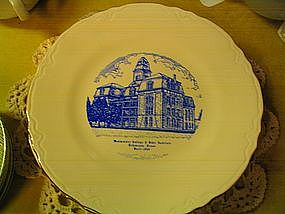 Westminster College & Bible Institute Plate
