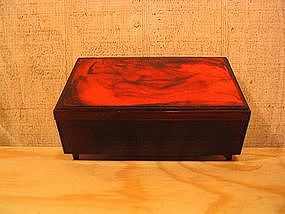 Faux Tortoiseshell Jewelry Box