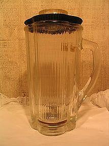 Vintage Waring Cloverleaf Glass Carafe