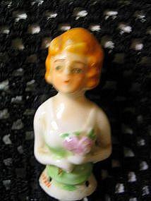 Vintage Half Doll Figure