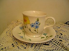 Mikasa Prairie Blossoms Cup and Saucer
