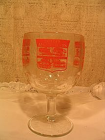 Butler Amusements Glass Goblet