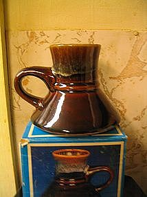 Brown Drip No-Spill Mug