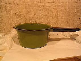 Vintage Enamelware Pan