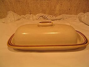 Japan China Woodberry Butter Dish