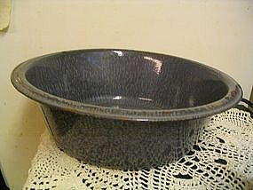 Gray Enamel Pan
