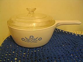 Corning Cornflower Sauce Pan