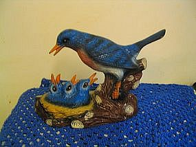 Bluebirds Figurine