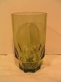 Hazel Atlas Green Tumbler