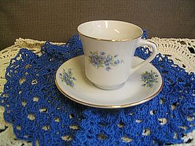 Istanbul Porselen Cup and Saucer