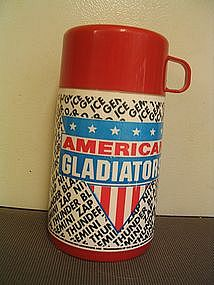 American Gladiators Aladdin Thermos