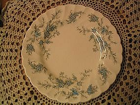 Myott Forget Me Not Plate