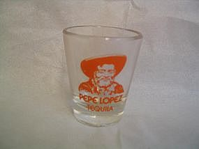 Pepe Lopez Shot Glass