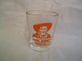 Pepe Lopez Shot Glass