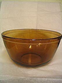 Anchor Hocking Amber Bowl