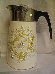 Corning Floral Bouquet Coffee Pot