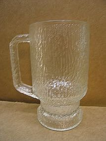 Textured Glass with Handle