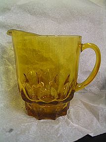 Hazel Atlas Amber Pitcher
