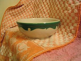 Shenango Green Crest Bowl