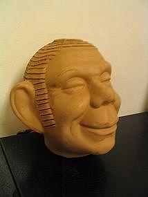 Vintage Chia Head
