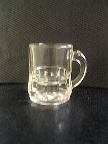 Federal  Glass  Mug Shot Glass