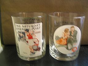 BP Norman Rockwell Glass