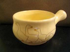 Vintage Geese French Casserole