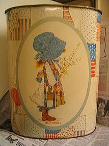 Holly Hobbie Waste Can