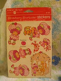 1984 Strawberry Shortcake Stickers