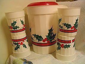 Packerware Christmas Pitcher & Cups