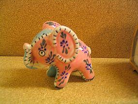 Patchwork Elephant Shaker