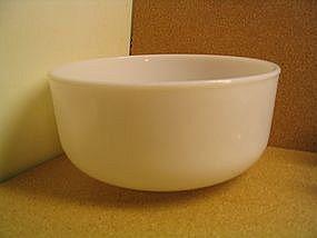 Milk Glass Mixer Bowl