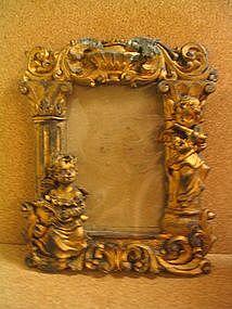 Cherub Picture Frame