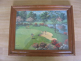 Art Sarnoff Golf Print
