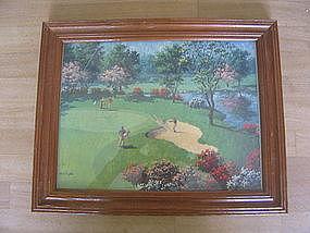 Art Sarnoff Golf Print