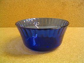 Cobalt Custard Cup