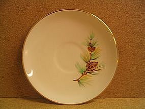 Royal China Pine Cone Saucer