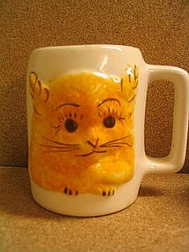 Cash Pottery Cat Mug