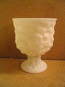 E. O. Brody Milk Glass Vase