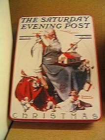 Norman Rockwell Christmas Tin