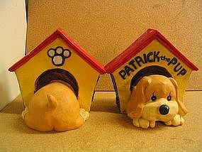 Patrick the Pup Bookends
