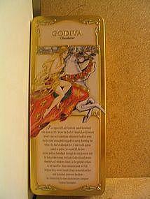 Godiva Chocolate Tin