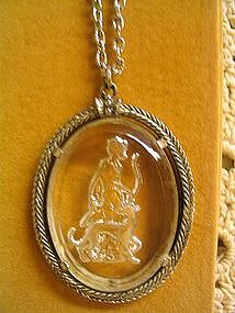 Avon Intaglio Diana the Huntress