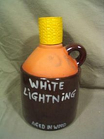 White Lightning Jug