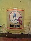 Houston Oilers Glass