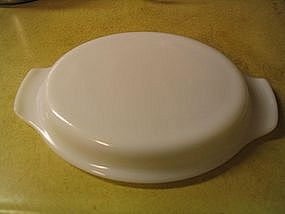 Fire King Milk Glass Lid