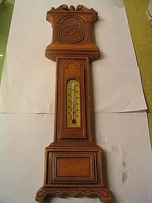 Grandfather Clock Thermometer