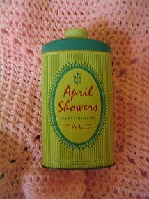 April Showers Tin