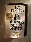 Ian Fleming On Her Majesty's Secret Service
