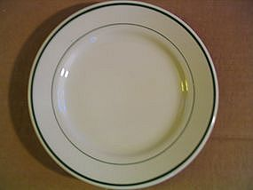 Buffalo Plate Green Stripe